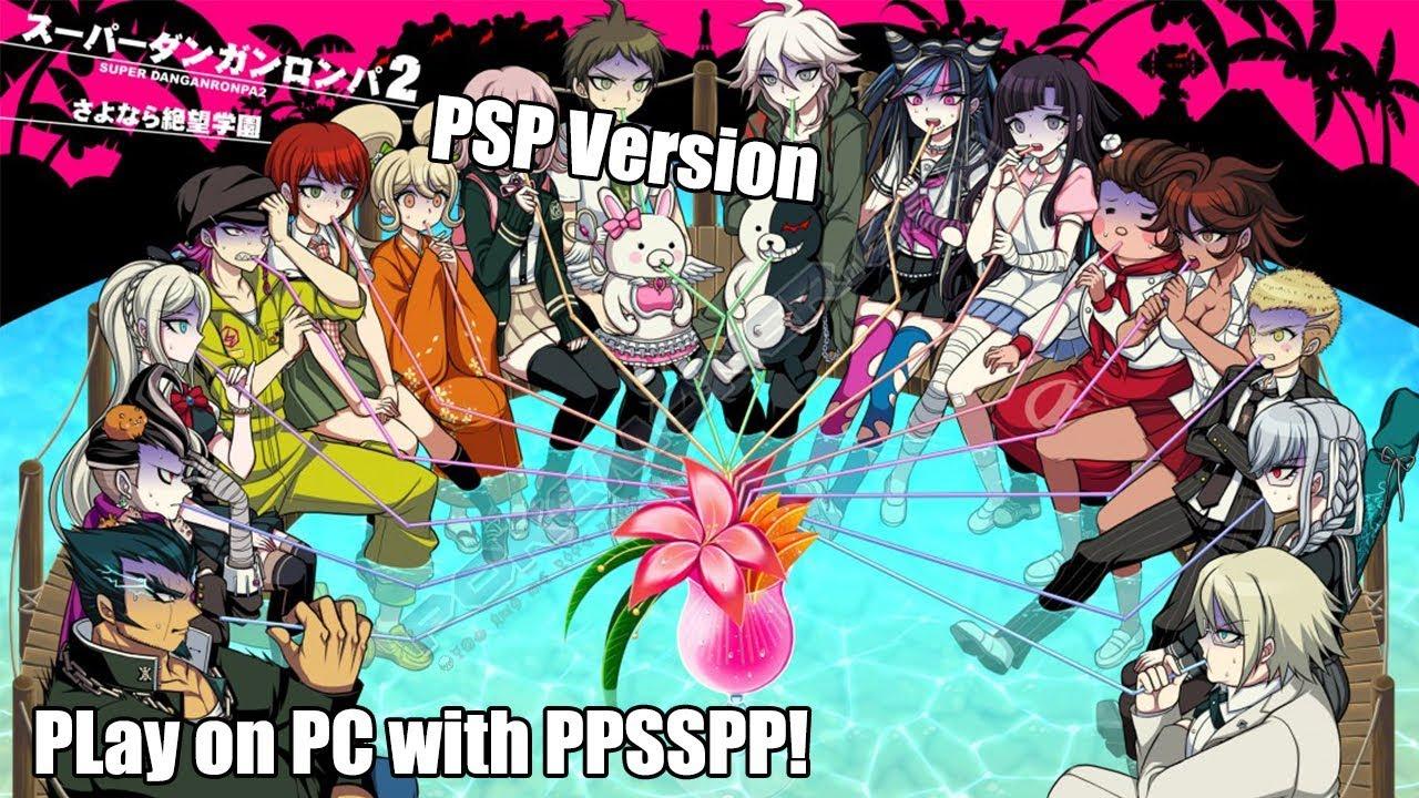 Super Danganronpa 2 Sayonara Zetsubou Gakuen Japan PSP