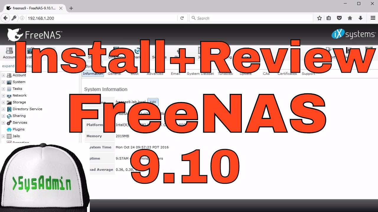 How-To] Install/Configure FreeNAS 9 10 on VMware