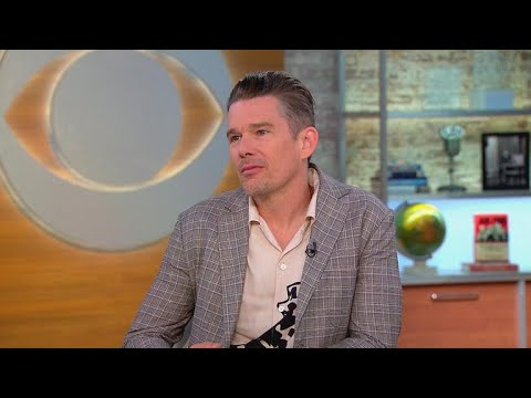 """Ethan Hawke on """"First Reformed,"""" pride in daughter's """"Little Women"""" role"""