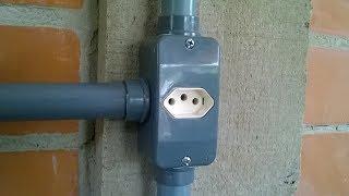 Instalação Elétrica na Prática  - Emendas e instalação de tomadas - Vídeo 04