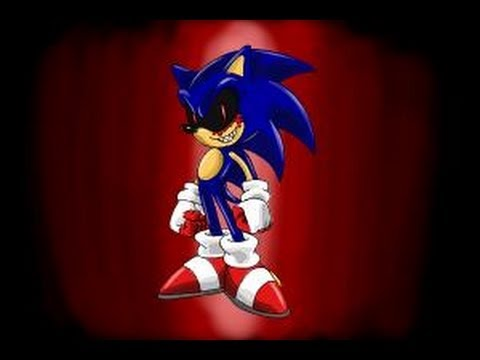 How to draw Sonic exe