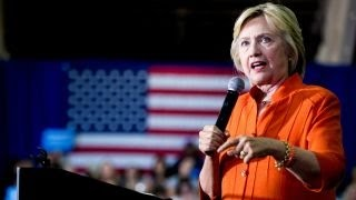 Father of Orlando shooter attends Clinton rally
