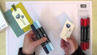 Blendabilities Basics - How To Color With Stampin' Up Blendabilities