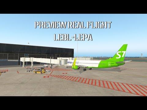 X-Plane 11 | Preview Real Flight To Palma De Malloca | Предвкушая реальный перелет