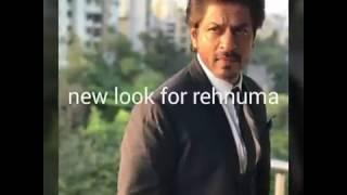 Shahrukh khan 39 s new look for Rehnuma