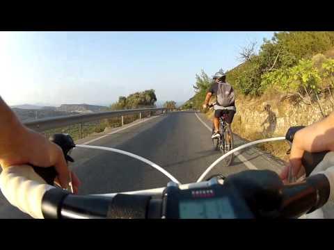 Κρήτη - Διαδρομή Πρίνα - Παχειά Άμμος (με ποδήλατο)