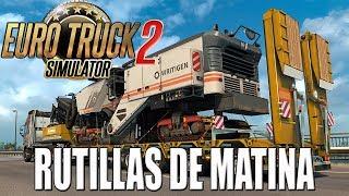 Gameplay EURO TRUCK SIMULATOR 2 | DIRECTO | RUTILLAS DE MATINA | ESPAÑOL | PC HD | 1080P