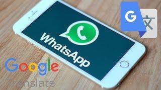 Terjemahkan Chatting Di Whatsapp Dengan Google Translate Youtube