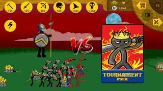 Lv 2 Speartons VS The INSANE MODE Tournament | Stick War Legacy