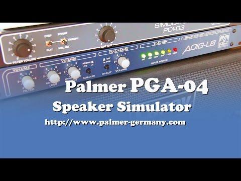 Palmer MI: PGA04 Speaker Simulator