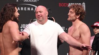 UFC 239 Ceremonial Weigh-Ins: Jorge Masvidal vs. Ben Askren