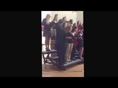 All I Want For Christmas Is You by The Bowler High School Combined Ladies Choir - December 15, 2013