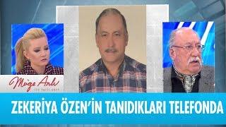 Zekeriya Özen'in tanıdıkları telefonda - Müge Anlı ile Tatlı Sert 10 Ocak 2019