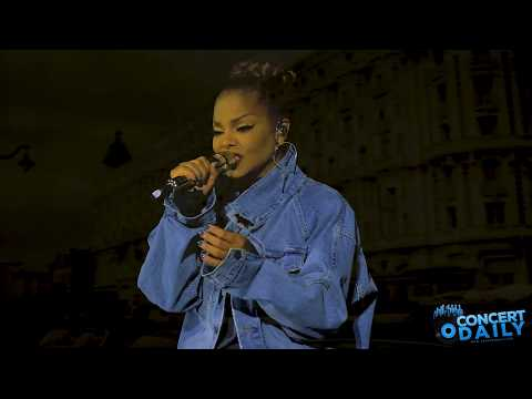 """Janet Jackson performs """"Twenty Foreplay"""" live at the State Of The World Tour Baltimore"""