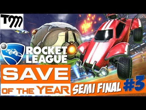 Rocket League - SAVE OF THE YEAR 2018 - SEMI FINAL #3 thumbnail