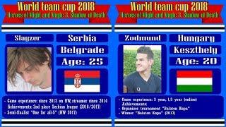 #47-2. WTC 2018. Zodmund (Fortress, Hungary) vs Slayzer (Dungeon, Serbia). Jebus Cross XL