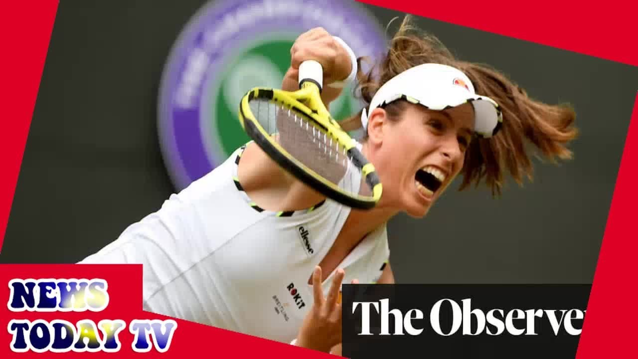 Johanna Konta roars back to knock Sloane Stephens out of Wimbledon