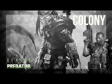Aliens vs. Predator (2010) - Mission 1 - Colony - Marine - Campaign / Gameplay
