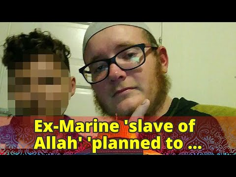 Ex-Marine 'slave of Allah' 'planned to funnel crowds onto San Francisco pier with pipe bombs and sho