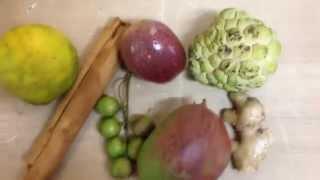 Mes fruits exotiques!