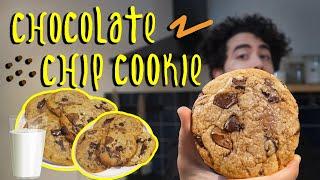 Dışı Kıtır İçi Yumuş Sakız Gibi Kurabiye | Chocolate Chip Cookie