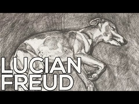 Lucian Freud: A collection of 43 sketches (HD)