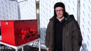 Обзор дробилки комков и отходов легких бетонов DK 700 ITALTECH