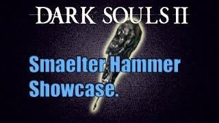 Скачать Dark Souls II Weapon Showcase Сплавленный молот