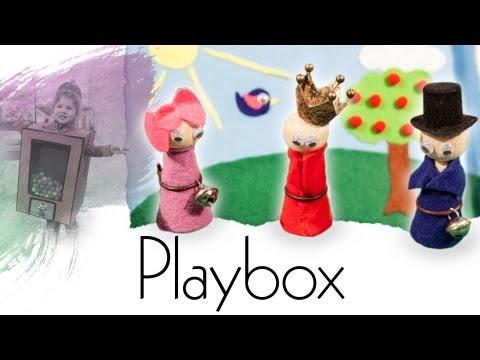 Mobile Spielbox zum selber basteln — Handmade