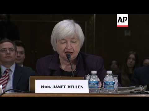 Federal Reserve Chair Janet Yellen says the Federal Reserve remains patient in deciding when to rais