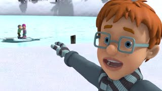 New Fireman Sam ❄️Stuck on the Frozen Ice ⛸ ❄️Sam's Christmas Special 🎄🔥Kids Cartoons