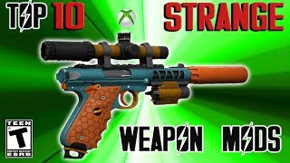 Fallout 4 top ten Strange weapon mods. This video does a review of ...