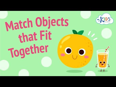 Matching Objects for Kids   Matching Games for Preschool   K