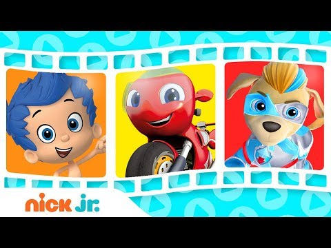 Dance & Sing w/ Blaze, Ricky Zoom, Guppies & Rescue Pups! | Sing-Along | Nick Jr.