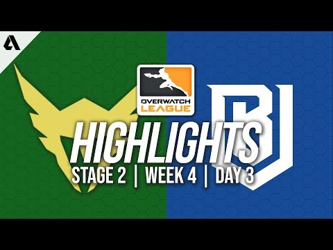 Los Angeles Valiant vs Boston Uprising | Overwatch League Highlights OWL Stage 2 Week 4 Day 3