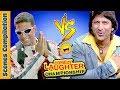 Akshay Kumar  Vs Arshad Warsi Comedy Scenes  - Comedy Laughter Championship