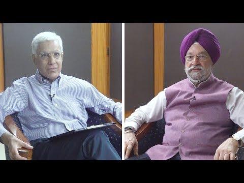 Karan Thapar Interviews Union Minister Hardeep Singh Puri