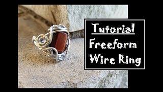 Freeform Spiral Ring