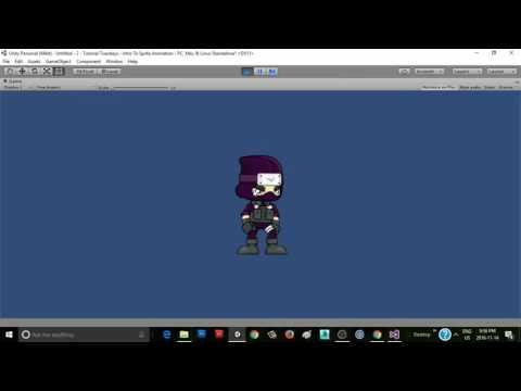 Unity 5 Tutorial Tuesdays: Intro To Sprite Animation