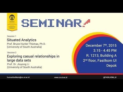 [07122015] Seminar Riset - Big Data Analytics
