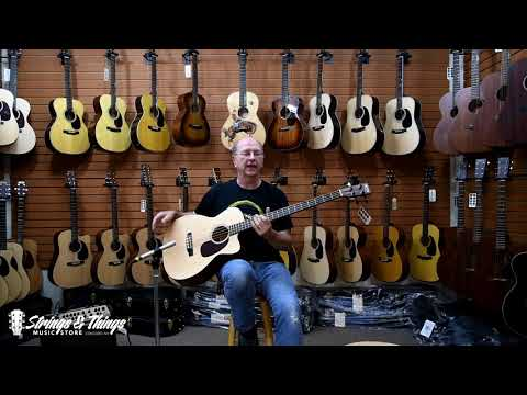 Strings & Things Music - Erik Hodges presents the Martin BCPA4 Bass