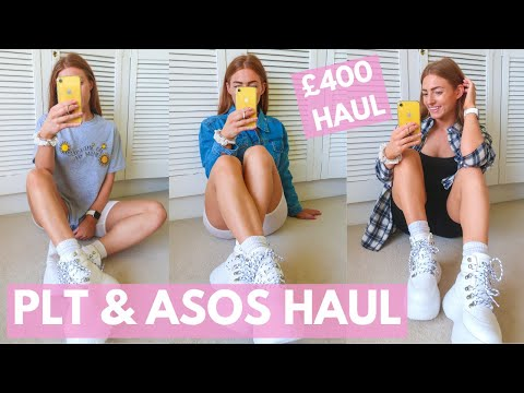 HUGE PLT HAUL & ASOS HAUL | Pretty Little Thing Unbox And Try On