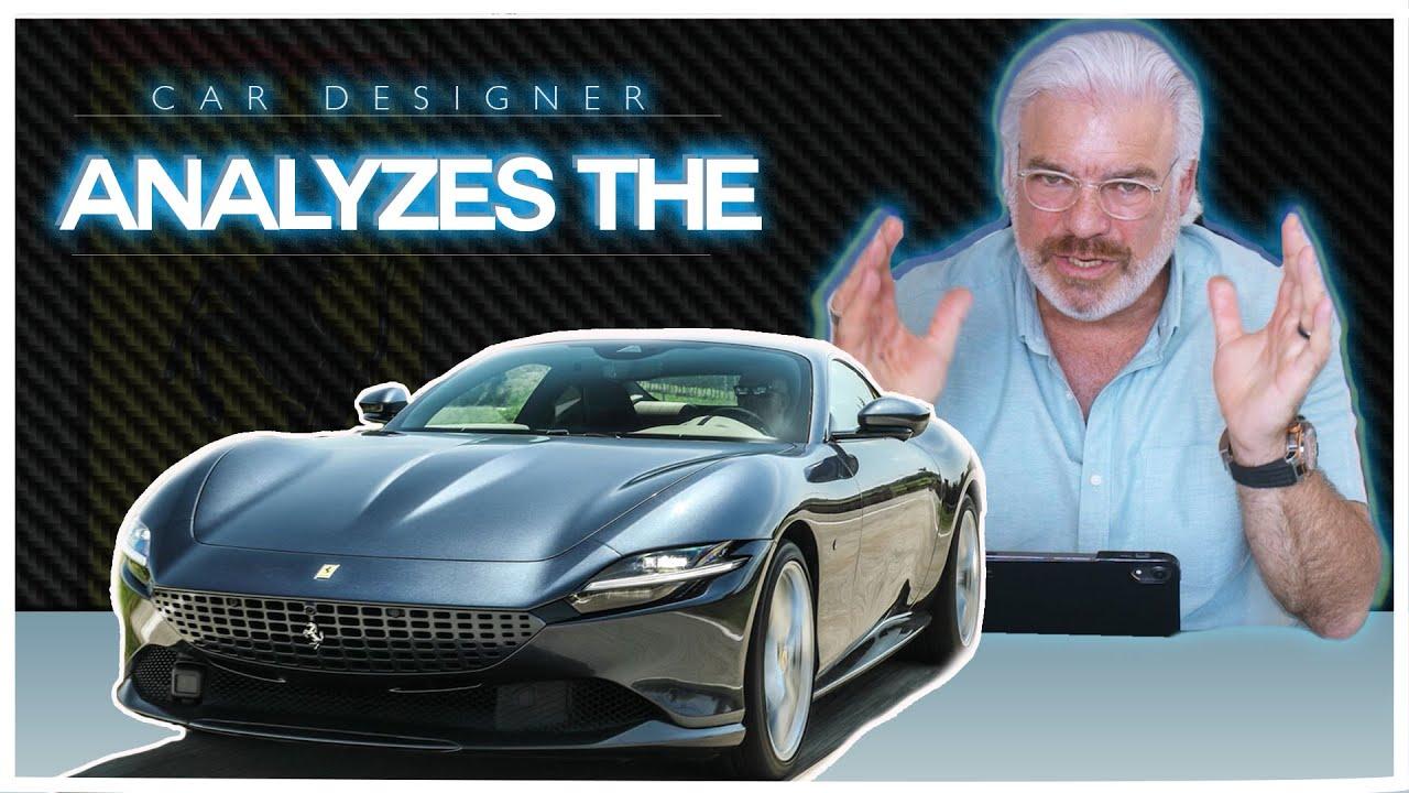 F430 Designer Analyzes The Ferrari Roma!