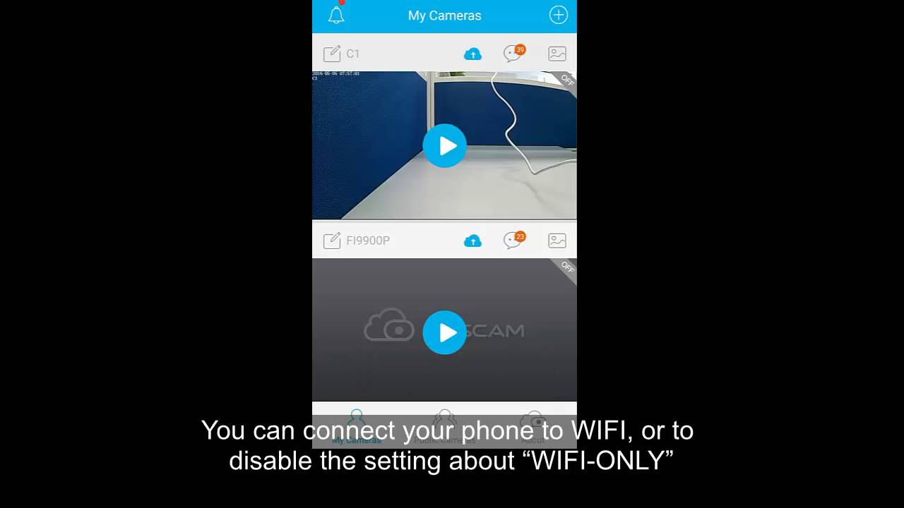 Foscam App Video Tutorial: How to disable the WIFI only on APP Foscam