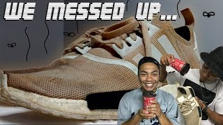 HOW TO CLEAN WHITE NMDS, ULTRA BOOSTS, ETC.