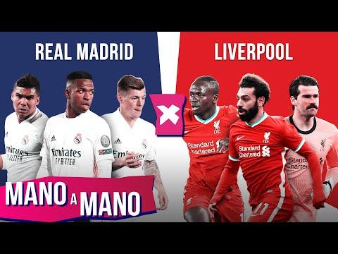 REAL MADRID X LIVERPOOL: QUARTAS DE FINAL DA CHAMPIONS LEAGUE - MANO A MANO