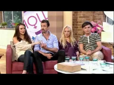 Hollyoaks: Claire Cooper, Kieron Richardson, Emmett J. Scanlan & Jorgie Porter 13.05.11
