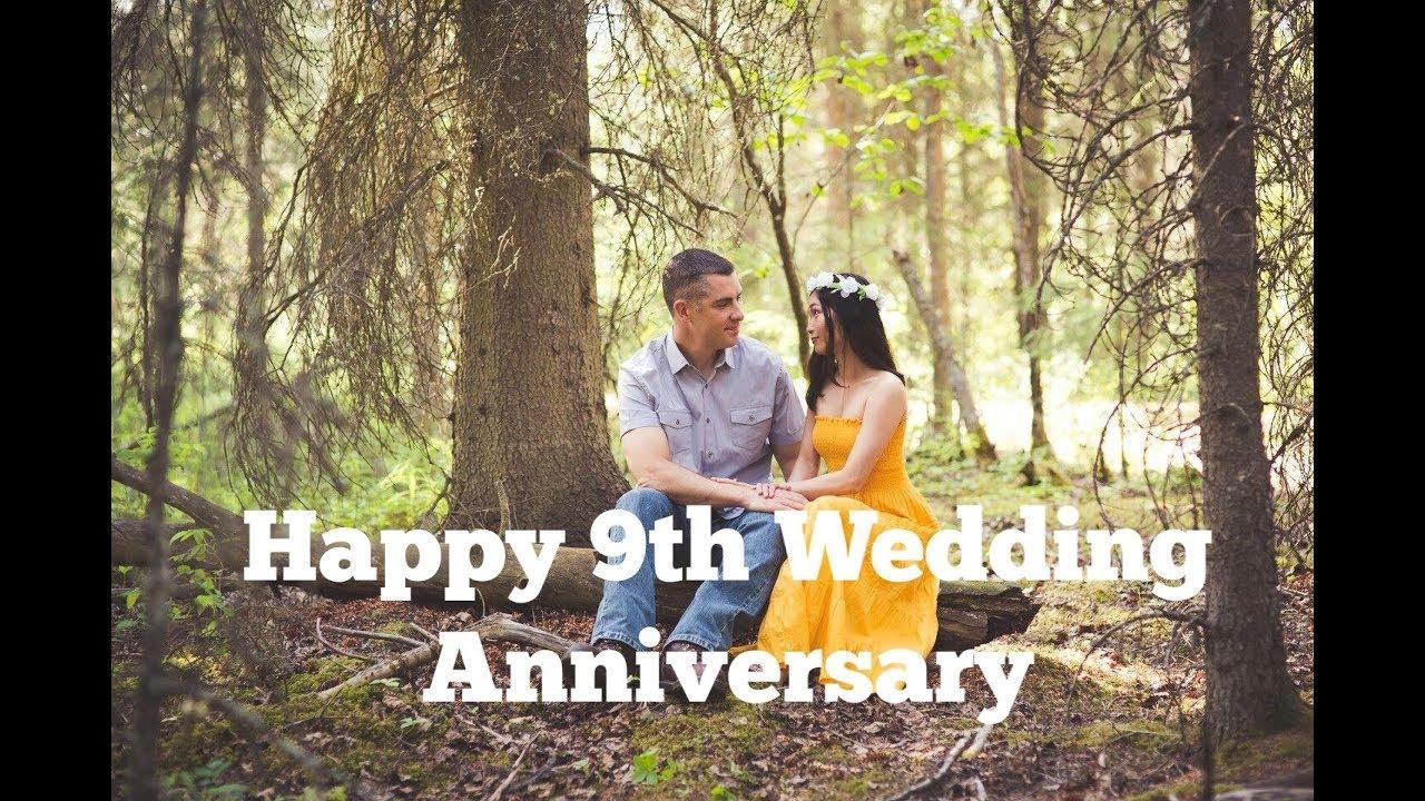 For my husband   Happy 9th Wedding anniversary!