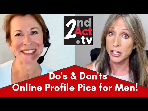 Online Dating Over 50: Are Your Pictures A Turn Off To Women? Profile Picture Do's & Don'ts For Men