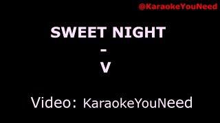 [Karaoke] Sweet night - V